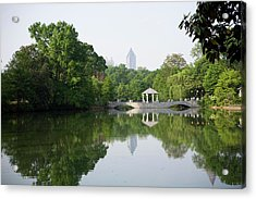 Piedmont Park In Atlanta Acrylic Print by Rdegrie