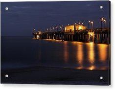 Pier Glow Acrylic Print