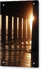 Pier Light Acrylic Print