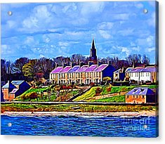 Pier Road, Berwick, Northumberland Coast - Photo Art Acrylic Print