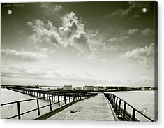 Pier-shaped Acrylic Print
