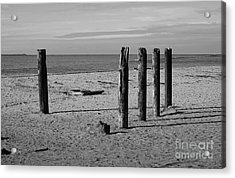 Pier Watch Acrylic Print