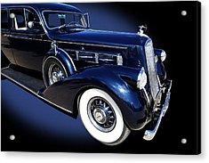 Pierce Arrow Model 1603 Limousine Acrylic Print