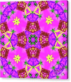 Pink 3 Acrylic Print