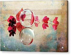 Acrylic Print featuring the photograph Pink Line by Randi Grace Nilsberg