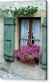 Pink Window Box Acrylic Print