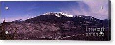 Pinkham Notch Mount Washington Acrylic Print by Alan Del Vecchio