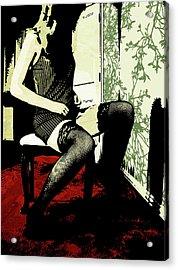 Pinstripes Acrylic Print