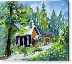 Pioneer Union Church Acrylic Print