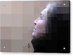 Pixel Portrait Acrylic Print