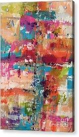 Playful Colors Acrylic Print