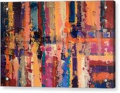 Playful Colors Iv Acrylic Print