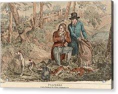 Poaching Acrylic Print by Hulton Archive