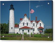 Point Iroquois Lighthouse Acrylic Print