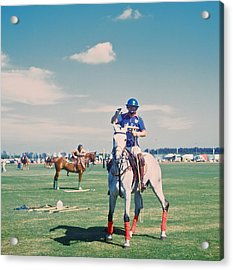 Polo In Florida Acrylic Print