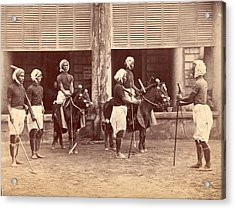 Polo In India Acrylic Print by Henry Guttmann Collection