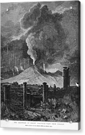 Pompeii Acrylic Print by Hulton Archive