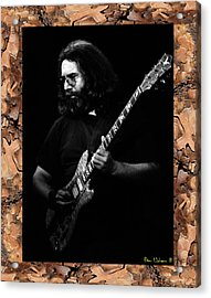 Acrylic Print featuring the photograph Pondersosa Pine Frame With Jg by Ben Upham