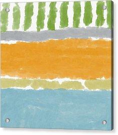 Poolside 1- Art By Linda Woods Acrylic Print