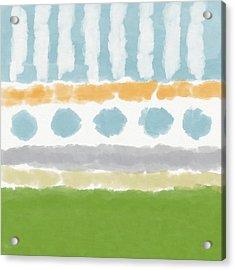Poolside 3- Art By Linda Woods Acrylic Print