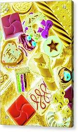 Pop Art Party Acrylic Print