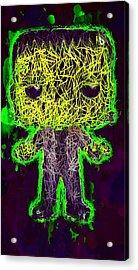 Frankenstein Pop 2 Acrylic Print