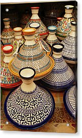 Porcelain Tagine Cookers  Acrylic Print