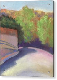 Port Costa Street In Bay Area Acrylic Print