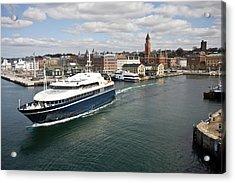 Port Of Helsingborg Acrylic Print
