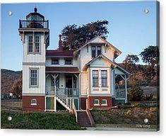 Port San Luis Lighthouse Acrylic Print