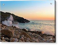 Porth Nanven Splashback Acrylic Print