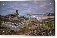 Porthmeor Beach January View Acrylic Print