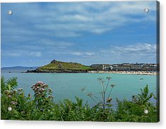 Porthmeor View On The Island Acrylic Print