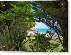 Porthminster Behind The Trees - St Ives Cornwall Acrylic Print