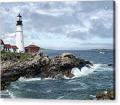 Portland Head Light House Acrylic Print