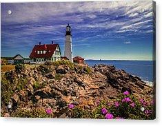 Portland Head Lighthouse Acrylic Print by Andrew Soundarajan