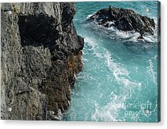 Porto Covo Cliff Views Acrylic Print