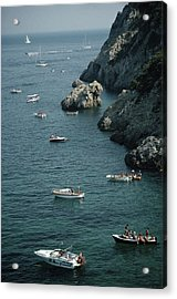 Porto Ercole Boats Acrylic Print