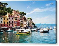 Portofino, Liguria, Italy Acrylic Print by Brzozowska