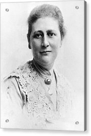 Portrait Of Author Beatrix Potter Acrylic Print by Express Newspapers