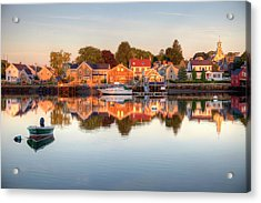 Portsmouth New Hampshire Acrylic Print by Denistangneyjr