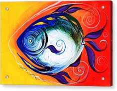 Positive Fish Acrylic Print
