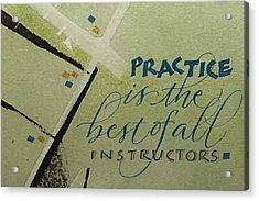 Practice Acrylic Print