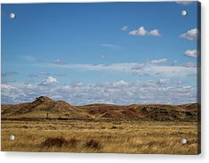 Acrylic Print featuring the photograph Prairie Solitude by Scott Bean