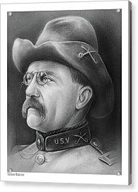 President Teddy Roosevelt Acrylic Print