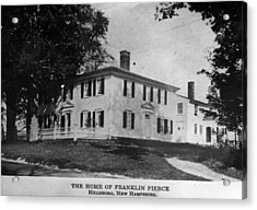 Presidents House Acrylic Print by Hulton Archive