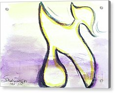 Pretty Aleph A15 Acrylic Print