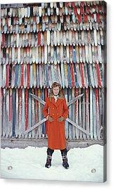 Princess Ruspoli Acrylic Print by Slim Aarons