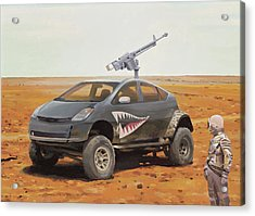 Prius Road Machine Acrylic Print