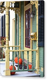 Pumpkins On The Porch Lambertville Acrylic Print